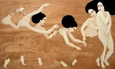 Hayv Kahraman paintings {Part 2}