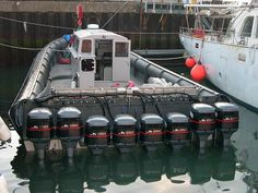 Power boat.