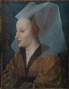 Portrait of a Noblewoman, Probably Isabella of Portugal (1397–1472), mid-15th century  Netherlandish Painter