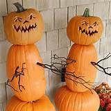 Pumpkin zombie guards