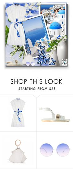 """Cycladic Frames! - Contest!"" by asia-12 ❤ liked on Polyvore featuring Skinnydip, thegreekdesigners and cycladicframes"