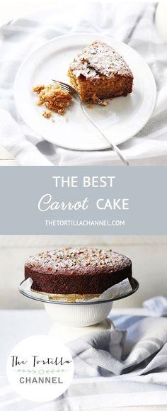 The best carrot cake slice side