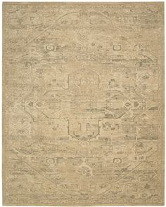 Silk Elements Sand Medallion Rug