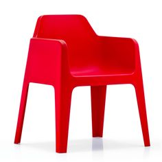 Plus Armchair Red
