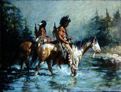 By Hank Ford untitled kp Native American Paintings, Native American Images, Native American Artists, American Indian Art, Native American Indians, Western Artists, Indian Artwork, Indian Paintings, Native Indian
