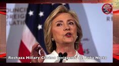 Rechaza Hillary Clinton invitación de Peña Nieto🔴   Noticias al Momento