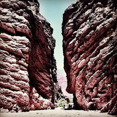 Quebrada de las Conchas (Cafayate - Salta).