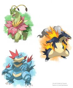 Johto Mega-Evolution Concept Art
