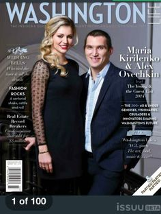 Maria Kirilenko and Alex Ovechkin