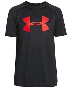 Indulge his laid-back style with classic comfy tees by Under Armour. | Polyester…