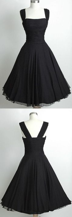 homecoming dress,black homecoming dress,vintage homecoming dress,chiffon…