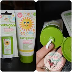 Keep Baby Safe from the Sun with Babyganics Sunscreen | Closet of Free Samples | Get FREE Samples by Mail | Free Stuff | closetsamples.com
