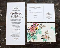 Holiday Cards & Invitations, Custom Postcard Invitations MacKenzie And John's Eclectic Cape Cod Invites: Fantastic Custom Postcard Invitations