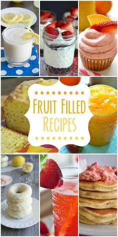 Fruit Filled Recipes