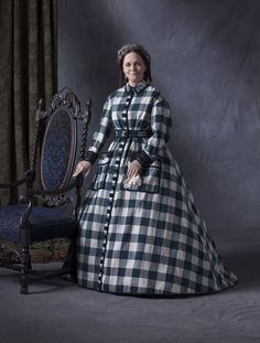 Cut costume designed by Joanna Johnston for Sally Field in Lincoln (2012)