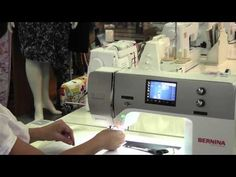 Bernina Stitch Regulator. Part two - YouTube