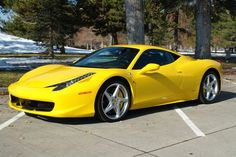 2014 ferrari 458 italia msrp yellow