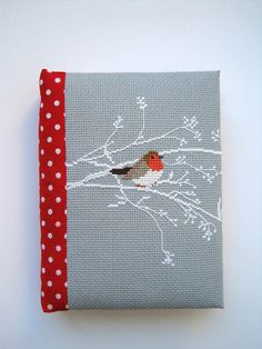 Christiane Dahlbeck вышивка крестиком cross stitch hand made notebook блокнот ручной работы
