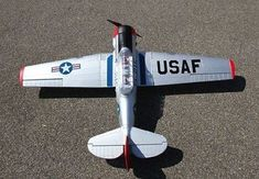 Large AT-6 Texan 4Ch 2.4GHz RTF RC Radio Controlled Aeroplane Plane W/ Retracts | Aeroplanes | RC Model Vehicles & Kits - Zeppy.io