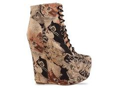I need these Jeffrey Campbell cat tapestry shoes!!!