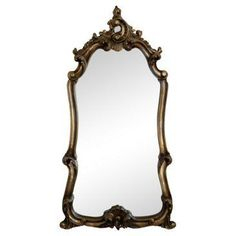 Check out this item at One Kings Lane! Baroque Giltwood Mirror