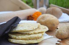 ispirata da una ricetta tradizionale pugliese che prevede la patata nell impasto del pane ecco che nasce Pane di patate in padella senza glutine e lievito