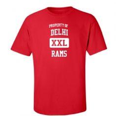 Delhi Junior High School - Delhi, LA   Men's T-Shirts Start at $21.97