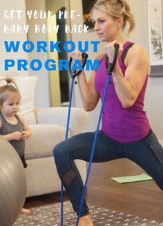 Get your pre-baby body back with this fantastic, easy at home workout program! Back Workout Program, Workout Programs, Pre Pregnancy, After Pregnancy, Easy At Home Workouts, Best Weight Loss Pills, Pregnant Diet, Baby Body, Lose Belly Fat