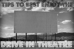 Tips to best enjoy the Drive in theatre - Tales of a Ranting Ginger