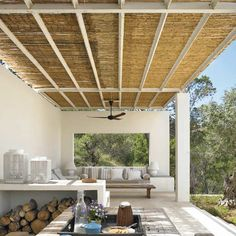 Pergola With Metal Roof Code: 7191950321 Pergola Attached To House, Pergola With Roof, Pergola Shade, Diy Pergola, Pergola Plans, Corner Pergola, Casa Patio, Patio Roof, Backyard Patio