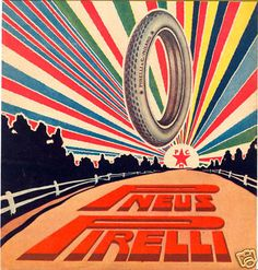 PIRELLI-pneus-simbolismo-Bob Noorda-Vanni ScheiWiller | eBay