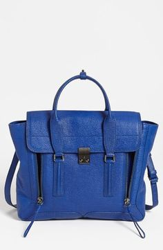 Blue and blue bag.