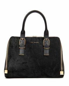 e1afcf832 TANNAH - Exotic tote bag - Black