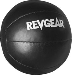 Revgear Medicine Ball 12lb $50.35      triple stitched for durability      smooth, durable leather