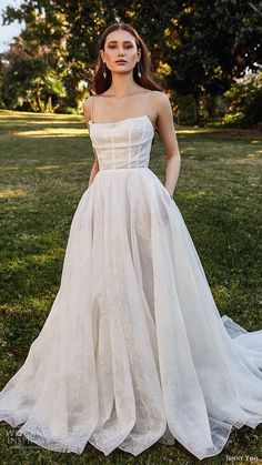 Dream Wedding Dresses Lace jenny yoo spring 2020 bridal sleeveless thin straps cowl straight neckline a line ball gown wedding dress pocket chapel train mv -- Jenny Yoo Collection Spring 2020 Wedding Dresses Wedding Dress Black, Wedding Dress With Pockets, Best Wedding Dresses, Bridal Dresses, Gown Wedding, Bridesmaid Dresses, Cowl Wedding Dress, Wedding Dress Straps, Unique Wedding Dress
