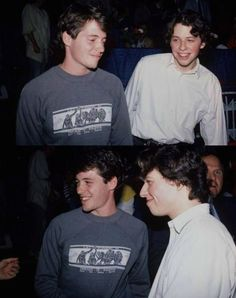We think Matthew Broderick & Jon Cryer would be the Heathers' celebrity crushes 80s Movies, Movie Tv, Beautiful Boys, Pretty Boys, Jon Cryer, Life Moves Pretty Fast, Boogie Woogie, Film Aesthetic, Famous Faces