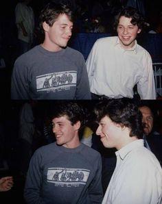 matthew broderick & jon cryer circa 1980