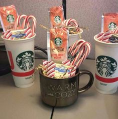 How to Make Creative Christmas Gifts for Teachers From Kids Mini Starbucks Christmas Coffee Baskets & DIY Christmas gifts for Teachers The post How to Make Creative Christmas Gifts for Teachers From Kids & Christmas Ideas appeared first on Gift . Inexpensive Christmas Gifts, Creative Christmas Gifts, Teacher Christmas Gifts, Holiday Gifts, Christmas Crafts, Christmas Baskets, Kids Christmas, Handmade Christmas, Christmas Presents For Friends