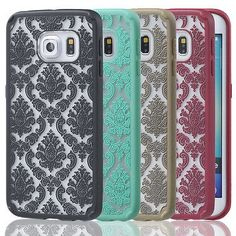 Luxury Damask Vintage Floral Pattern Matte Hard Case Cover For Samsung  Galaxy S6 986abcafaf189