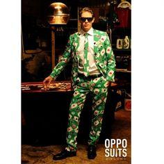 Poker Jakkesæt. Jakkesæt med kortspil | Køb et Jakkesæt sjovt mønster. #poker #casino #dress #blazer #opposuit