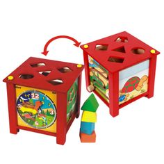 thoughtfortots - Toddler's 5 Activity Box, $25.99 (http://www.thoughtfortots.com/products/toddlers-5-activity-box.html)