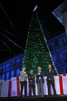 Carmena enciende la Navidad en Madrid