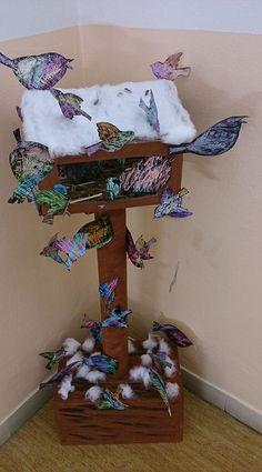 práce a fotka paní Hana Pinkavová ve fb skupině Náměty a inspirace.... School Projects, Projects To Try, Summer Camp Art, Diy And Crafts, Arts And Crafts, Cabins In The Woods, Art For Kids, Kindergarten, Artsy