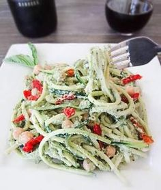Simply the Best Zucchini pasta might just fool the haters  Sometimes I can be pretty sneaky. It might shock those who don't know me well, but it's no surprise to my husband. One thing I can't fool my hubby on, though, is food; he's adamant about his dislikes. But I was feeling feisty one day when I saw this recipe on Facebook for zucchini pasta with avocado pesto and decided that hey, what's the worst that can happen? He won't eat it — but I will.