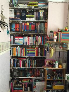 A Year Ago Today My Bookshelves Went From This Top To Bottom Say Its Come On Lot Is An Understatement