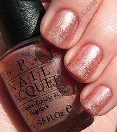 OPI: Cozu-melted in the sun So Nails, Sassy Nails, How To Do Nails, Hair And Nails, Opi Pink, Opi Nail Colors, Glittery Nails, Pretty Nail Art, Opi Nail Polish