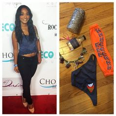 Actress with Style Candy Washington is headed to Coachella this weekend  with all her BluBond essentials f605d8c0c7f