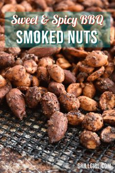 While this recipe calls for pecans, the combo of delicious brown sugar, paprika, coriander, chipotle powder and BBQ rub would also be decadent over cashews or almonds. With the holidays coming up, a jar of these smoked nuts are easy to whip up as a gift for coworkers or to present to the host at the next dinner party you're invited to. Just slap a bow on it and prepare for a round of applause.