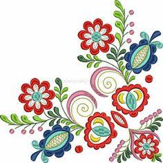 Folk Embroidery, Embroidery Patterns, Scandinavian Folk Art, Pillow Cover Design, Painted Doors, Artist Art, Line Art, Needlework, Stencils
