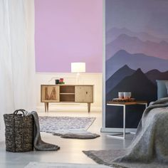 Miss Lolo has collaborated with Resene to create a new paint colour, Sugarplum Fairy. Soft Purple, Lilac, Pink, Decor Interior Design, Interior Decorating, New Paint Colors, Character Home, Winter Theme, Color Of The Year